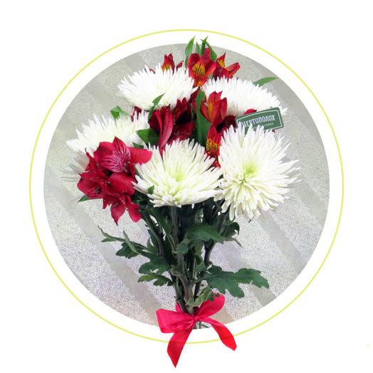 Букет Яркая вспышка: букеты цветов на заказ Flowwow