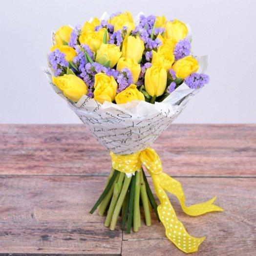 Мартовская улыбка: букеты цветов на заказ Flowwow