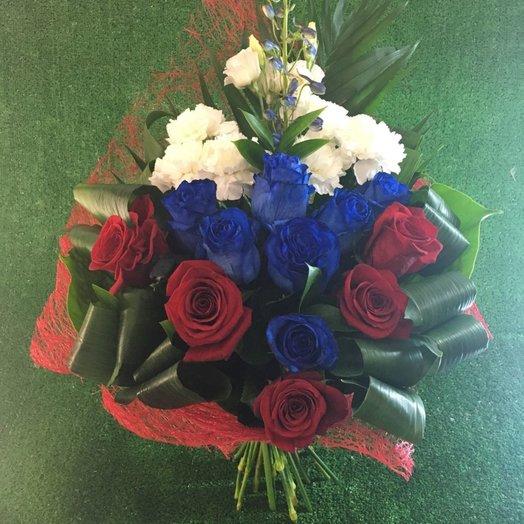 Букет санкт-петербург, букеты из цветов флагами