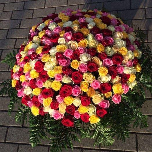 301 роза: букеты цветов на заказ Flowwow