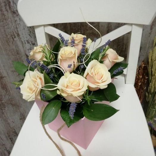 Ля кремиа: букеты цветов на заказ Flowwow