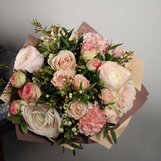 Тонкое Кружево: букеты цветов на заказ Flowwow