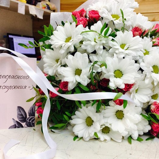 Приятного настроения!: букеты цветов на заказ Flowwow