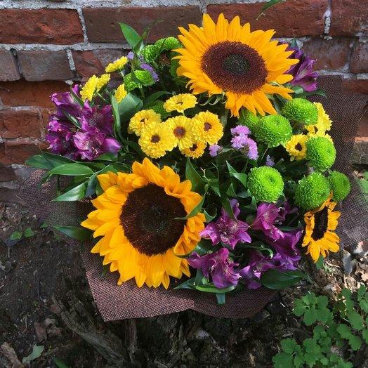 Смайл: букеты цветов на заказ Flowwow