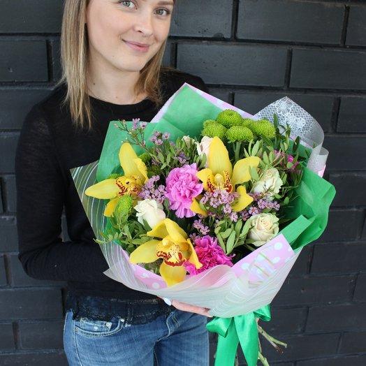 Комплимент цветы: букеты цветов на заказ Flowwow