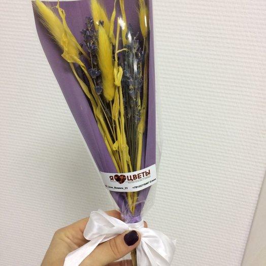 Лавандовое солнце: букеты цветов на заказ Flowwow