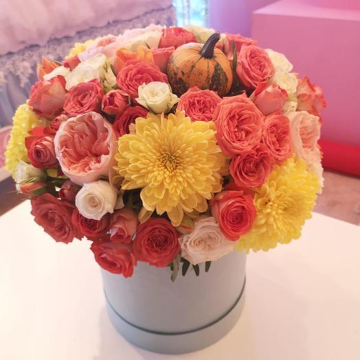 Осенняя сказка: букеты цветов на заказ Flowwow