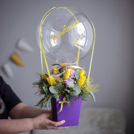 """""""Улыбнись"""": букеты цветов на заказ Flowwow"""