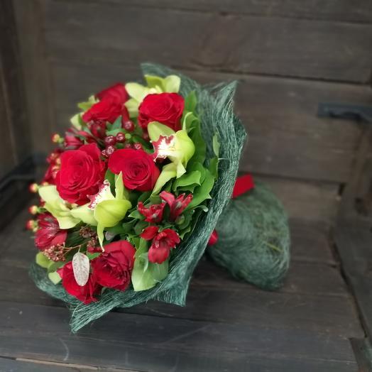 Мужской комплимент: букеты цветов на заказ Flowwow