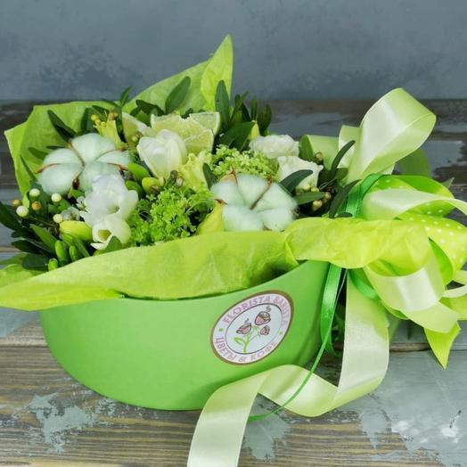 Коробочка Маргарита: букеты цветов на заказ Flowwow