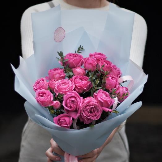 Букет-комплимент: Мисти Баблз: букеты цветов на заказ Flowwow