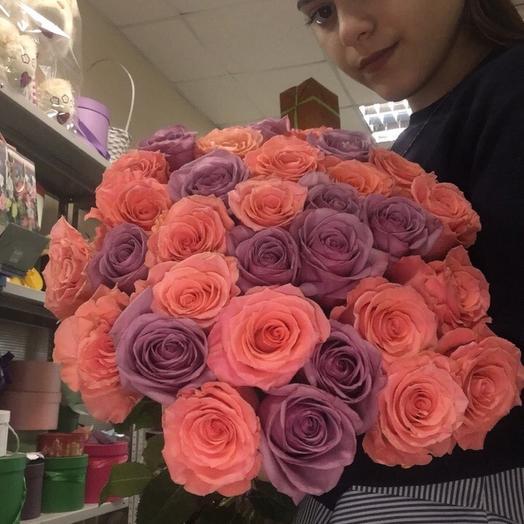 Мороз и сольнце: букеты цветов на заказ Flowwow
