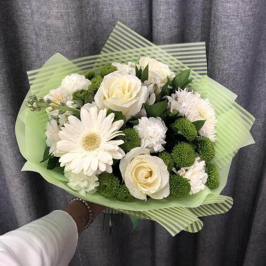 Оливковый: букеты цветов на заказ Flowwow