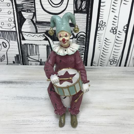 Клоун барабанщик: букеты цветов на заказ Flowwow