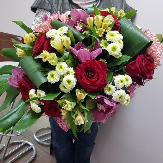 Букет ШИК: букеты цветов на заказ Flowwow