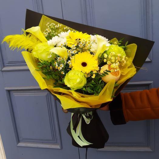 Желтый 💛: букеты цветов на заказ Flowwow