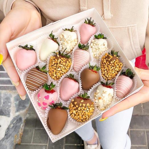 Клубника в Шоколаде «Нежность»