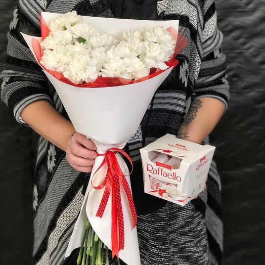Букет Рафаэлло: букеты цветов на заказ Flowwow