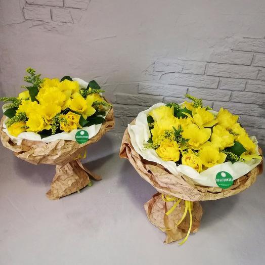 """Букет """"Мое солнце"""": букеты цветов на заказ Flowwow"""