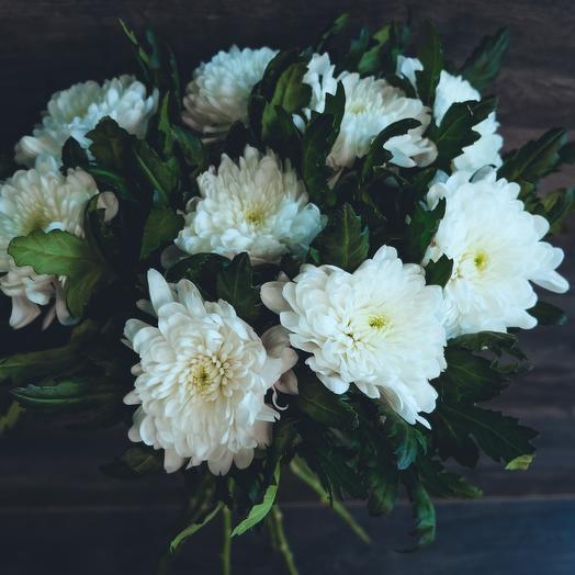 Хризантема Вайт: букеты цветов на заказ Flowwow
