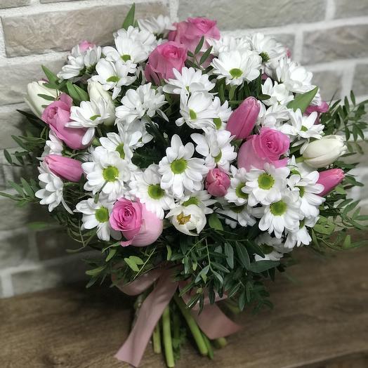 Ты в моем сердце: букеты цветов на заказ Flowwow