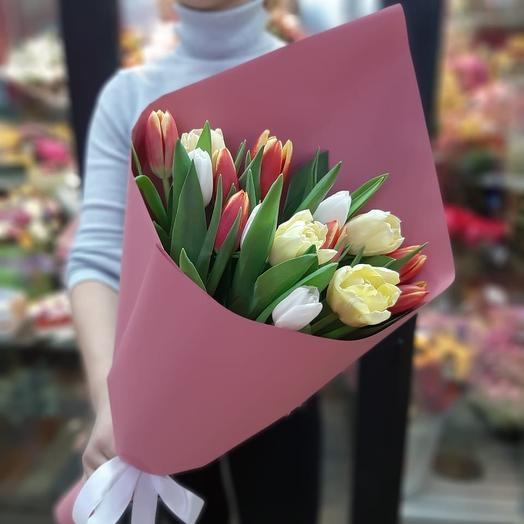 Просто тюльпаны :)): букеты цветов на заказ Flowwow