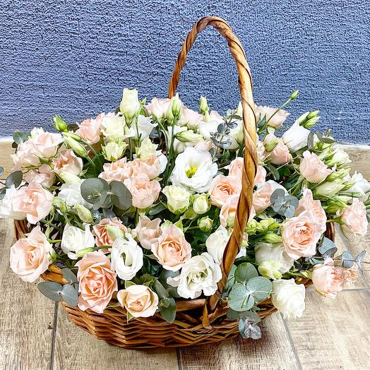 Fragrant basket: flowers to order Flowwow