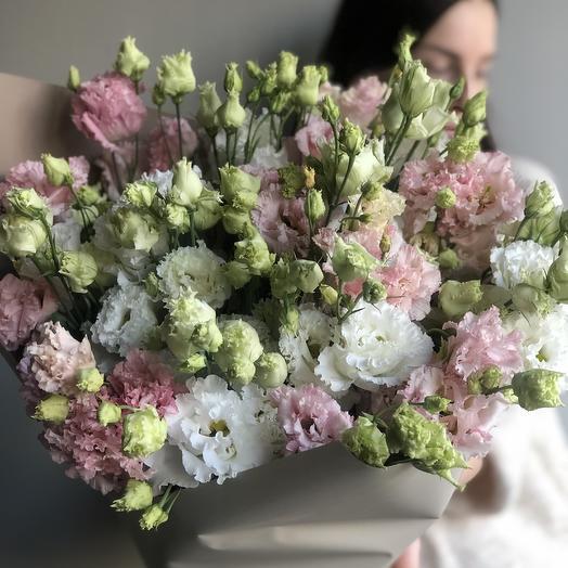 Эустома кудрявая микс: букеты цветов на заказ Flowwow