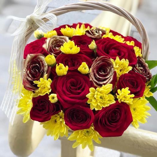 Корзина: букеты цветов на заказ Flowwow