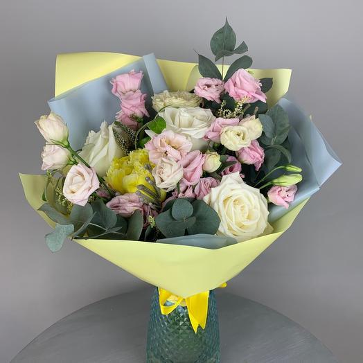 Нежный авторский букетик: букеты цветов на заказ Flowwow