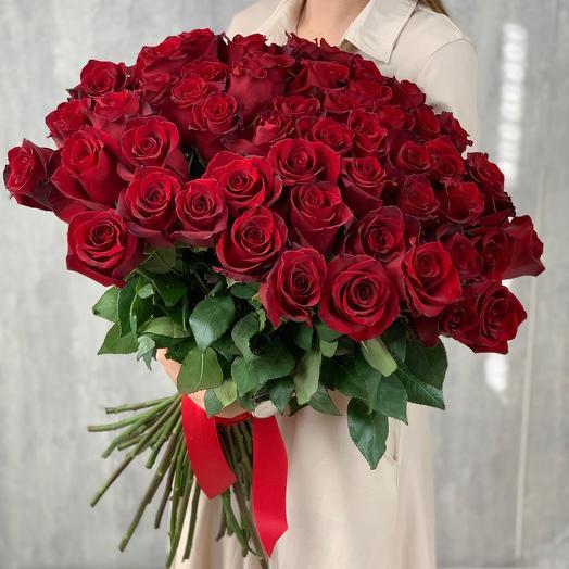 Букет из 51 розы (Эквадор)