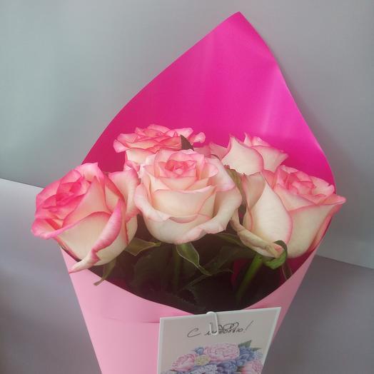 "Букет из 5 роз ""Эмилия"" 💖"