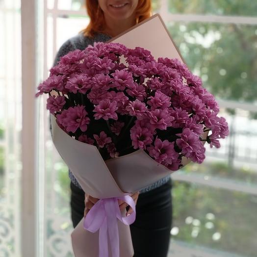 Фея🧚 букет из хризантем Бакарди