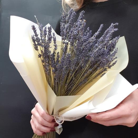Пучок ароматной лаванды