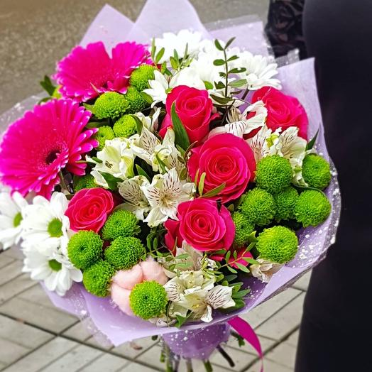 Букет Малиновый Цвет