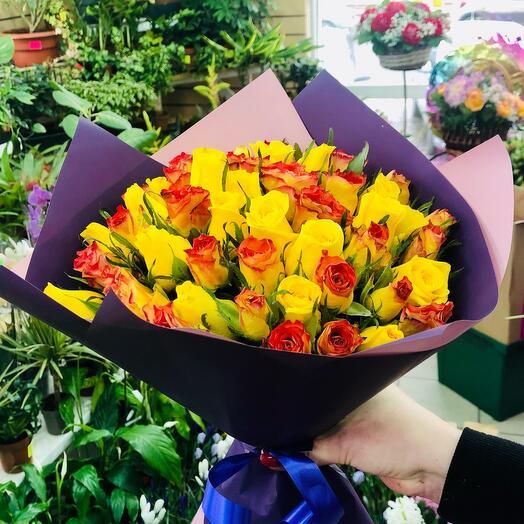 Розы Кения микс