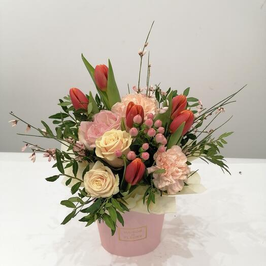 "Цветы в Коробке "" утро"""