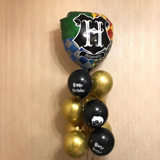 Фонтан из шаров Гарри Поттер