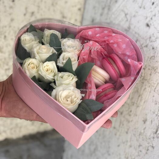 Цветы в коробке 💗