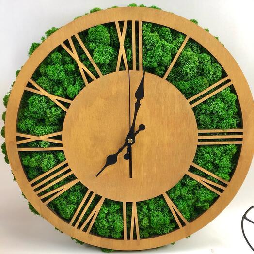 Часы лесная поляна