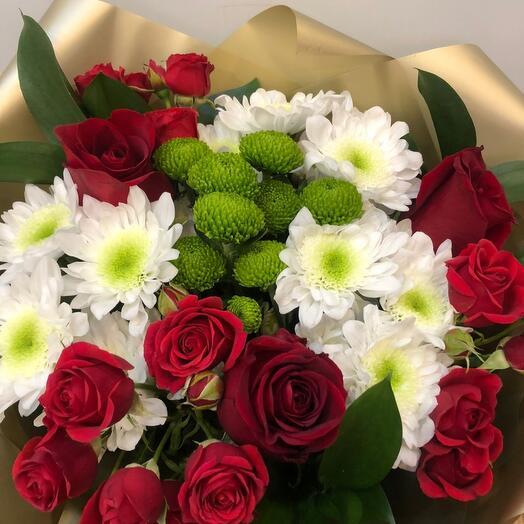 Букет из эквадорских роз
