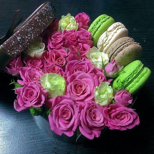 Барби (Коробочка 233): букеты цветов на заказ Flowwow