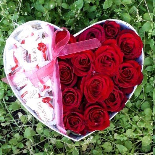 Сладкая любовь: букеты цветов на заказ Flowwow