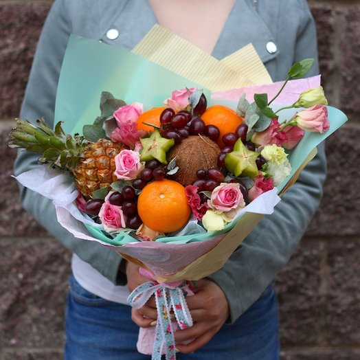 Ананас: букеты цветов на заказ Flowwow