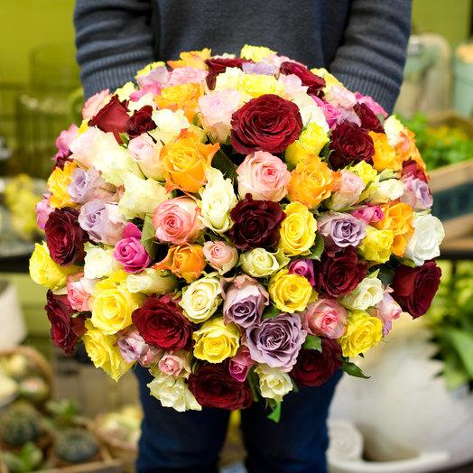 Букет из роз Акуна Матата: букеты цветов на заказ Flowwow