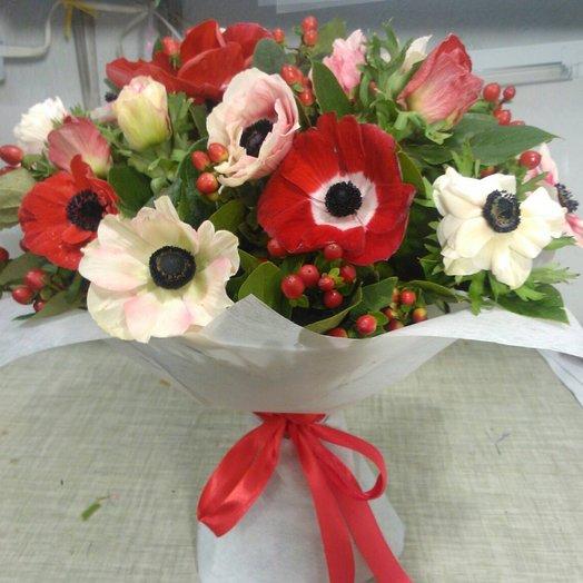 Лед и пламя: букеты цветов на заказ Flowwow