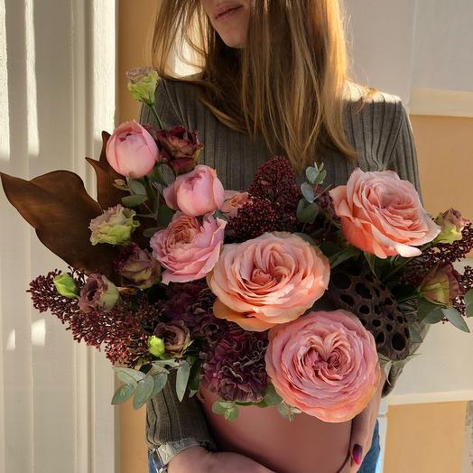Коробка Кахала: букеты цветов на заказ Flowwow