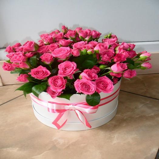 Шляпная коробка 1: букеты цветов на заказ Flowwow