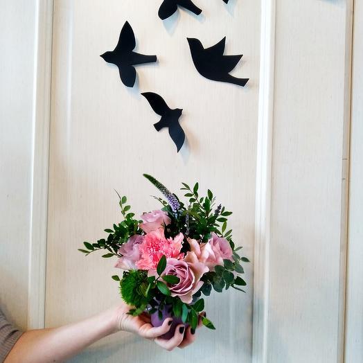 Кружка для подружки: букеты цветов на заказ Flowwow