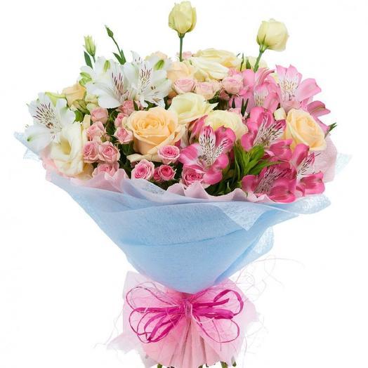 Нежность и легкость: букеты цветов на заказ Flowwow